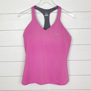Nike Tank Top with built in bra-Size Large